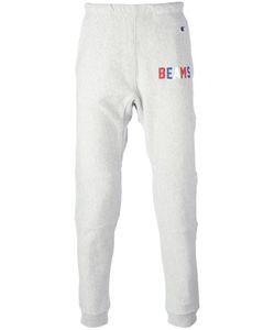 Champion | Beams Print Sweatpants Mens Size Xl Cotton/Polyester