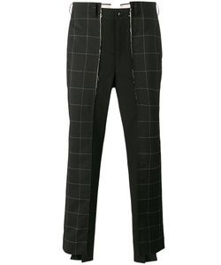 Comme Des Garçons Homme Plus | Check Panel Trousers Mens Size Medium
