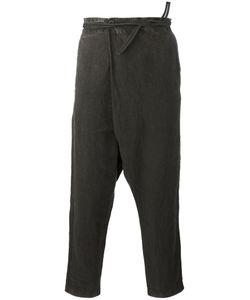 Transit | Drop-Crotch Trousers Mens Size Xl Linen/Flax