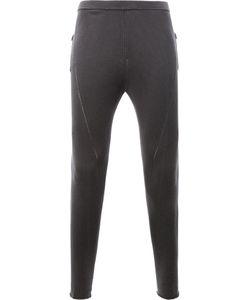 Label Under Construction | Patch Pockets Leggings Mens Size Medium Silk