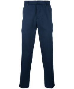 Dondup | Chino Trousers Mens Size 30 Cotton/Linen/Flax