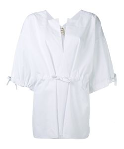 Maison Rabih Kayrouz   V Neck Top Womens Size 38 Cotton