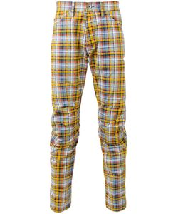 G-Star Raw | Madras Check Trousers Mens Size 29 Cotton/Polyester/Polyurethane