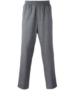 AMI Alexandre Mattiussi | Elasticated Waist Trousers Mens Size 44 Wool