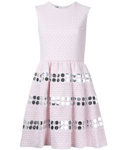 Jourden | Embellishment Fla Dress Womens Size 40 Cotton/Polyamide/Polyester/ Fibre