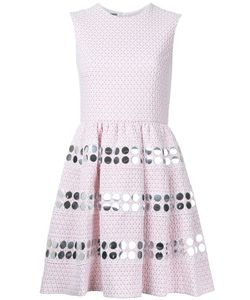 Jourden | Embellishment Fla Dress Womens Size 36 Cotton/Polyamide/Polyester/ Fibre