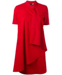Love Moschino   Fla Trim Dress Womens Size 40 Viscose/Polyester/Spandex/Elastane