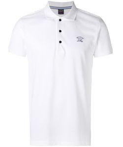 Paul & Shark | Logo Print Polo Shirt Mens Size Medium