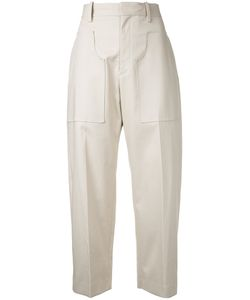 Astraet | Cropped Trousers Size 2 Cotton