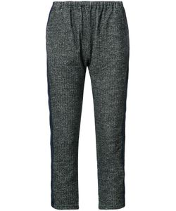 Engineered Garments | Elasticated Waist Cropped Trousers Womens Size 1 Cotton/Wool/Polyester
