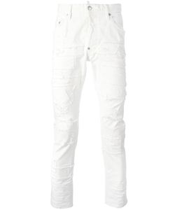 DSquared² | Skater Stitched Patchwork Jeans Mens Size 44 Cotton/Spandex/Elastane