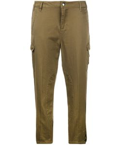 Twin-Set | Cropped Cargo Trousers Womens Size 25 Cotton