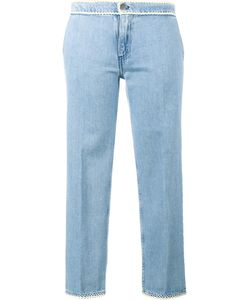 Jour/Né | Cropped Jeans With Piping Womens Size 40 Cotton