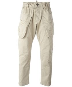 DSquared² | Elasticated Waist Cargo Trousers Mens Size 48 Cotton/Polyester/Polyurethane