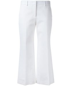 Emilio Pucci | Tailo Straight Trousers Womens Size 42 Cotton/Linen/Flax/Polyamide/Viscose