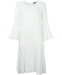 Odeeh | Fla Midi Dress Womens Size 38 Viscose