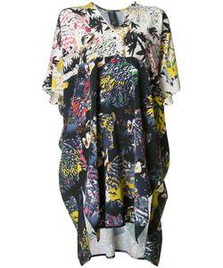 Zero + Maria Cornejo | Abstract Print Shift Dress Womens Size 14