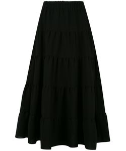Sonia Rykiel | Tie A-Line Skirt Womens Size 44 Polyester/Triacetate