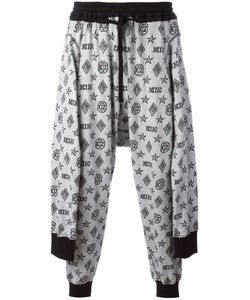 KTZ | Tied Up Monogram Joggers Mens Size Medium Cotton