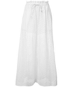 Sacai | Wide-Leg Trousers Womens Size 3 Cotton