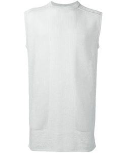 Rick Owens   Sleeveless Knitted Top Mens Cotton