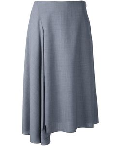 Astraet | Ruffled Detail A-Line Skirt Womens Size 0 Cotton