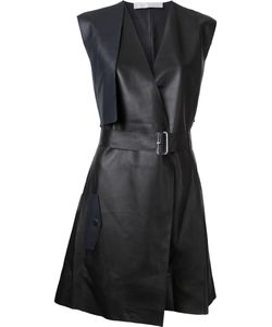 Dion Lee | Trench Leather Dress Womens Size 14 Sheep Skin/Shearling