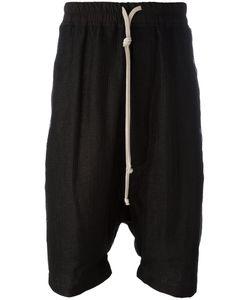 Rick Owens | Pod Shorts Mens Size 52 Linen/Flax/Cotton