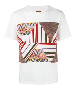 Missoni | Patchwork Panel T-Shirt Mens Size Large Cotton