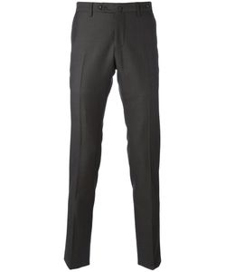 Pt01 | Patterned Tape Trousers Mens Size 50 Wool/Cotton/Spandex/Elastane