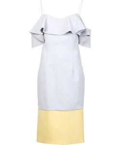 Christian Siriano | Ruffled Dress Womens Size 6 Polyester