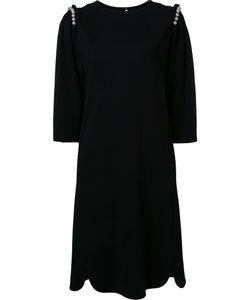 Muveil   Faux Pearl Detail Dress Size 36 Polyester/Nylon/Polyurethane