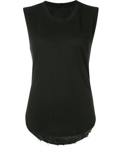 Raquel Allegra | Sheer Back Top Womens Size I Cotton/Polyester
