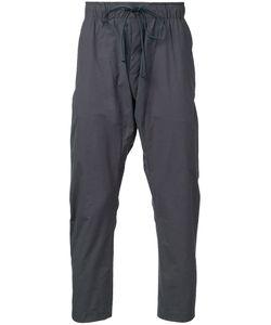 Kazuyuki Kumagai | Cropped Track Pants Mens Size 1 Cotton/Nylon/Polyurethane