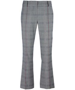 Cédric Charlier | Cropped Slim-Fit Trousers Womens Size 40 Cotton/Rayon