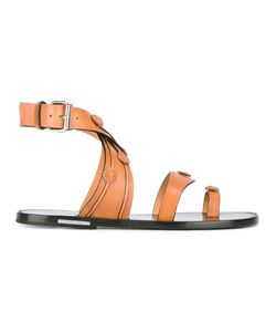 Isabel Marant | Cross Strap Jord Sandals Womens Size 36 Leather