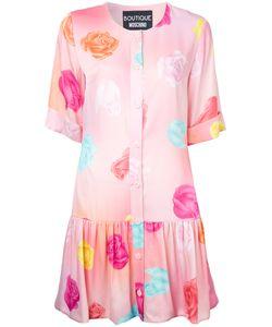 Boutique Moschino | Print Dress Womens Size 48 Rayon