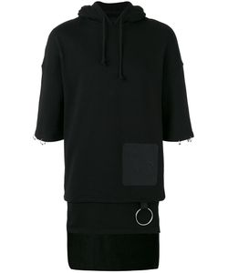 D.Gnak   Laye Short-Sleeve Hoodie Mens Size 46 Cotton