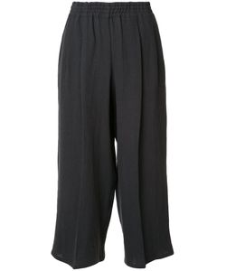 Dusan   Cropped Linen Trousers Womens Size Small Linen/Flax