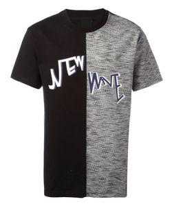 D.Gnak   Fabric Blocking T-Shirt Mens Size 50 Cotton