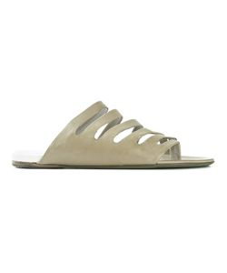 Marsèll | Strappy Sandals Womens Size 39 Calf Leather/Leather