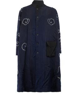 By Walid | Contrast Embroidery Coat Mens Size Small Silk
