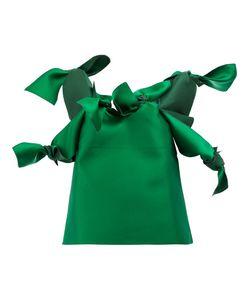 Maison Rabih Kayrouz   Knots Blouse Womens Size 36 Silk/Polyester