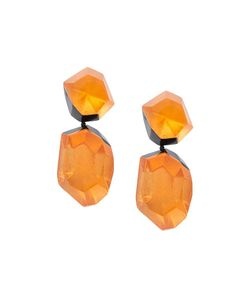 Monies | Facet Clip On Earrings Womens