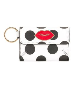 Charlotte Olympia | Dots Print Wallet Womens Leather/Brass