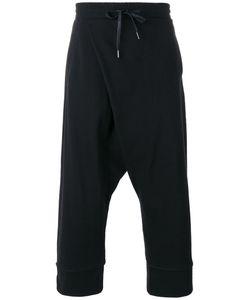 D.Gnak   Cropped Track Pants Mens Size 32 Cotton/Spandex/Elastane