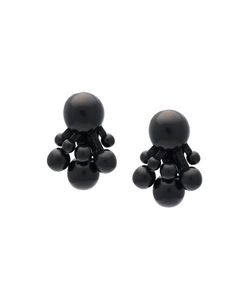 Monies | Tassel Bead Clip On Earrings Womens