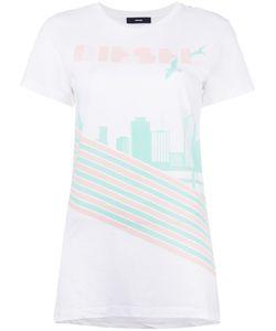 Diesel | T-Sully Long T-Shirt Womens Size Medium Cotton