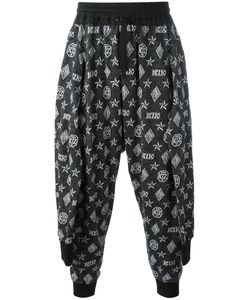 KTZ | Tied Up Monogram Joggers Mens Size Large Cotton