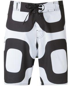 Osklen | Printed Bermuda Shorts Mens Size 44 Polyester/Spandex/Elastane